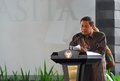 Indonesian president yudhoyono the of republic of indonesia susilo bambang will end his nd term in office in and can not Stock Photos