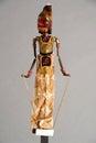 Indonesian Wayang Golek puppet