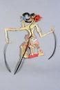Indonesian Wayang Kulit Purwa puppet