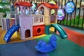 Indoor children playground Royalty Free Stock Photo