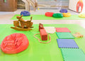 Indoor Children's Playground Royalty Free Stock Photography