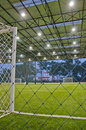 Indoor football field Royalty Free Stock Photography