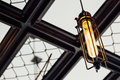 Indoor light coffee shop lighting Royalty Free Stock Photography