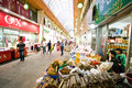 Indoor market of Iksan, South Korea Royalty Free Stock Photography