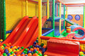 Indoor playground Royalty Free Stock Photo