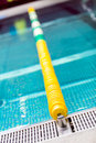 Indoor swimming pool lane separator Royalty Free Stock Photo