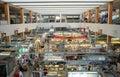 Indoor Wet Market in Asia Royalty Free Stock Photo