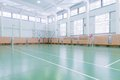 Indoors tennis court Royalty Free Stock Photos