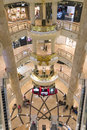 Indoors view of posh taipei mall and luxury in taiwan Stock Images