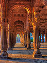 Indore Rajwada, the royal palace of Indore, India Royalty Free Stock Photo