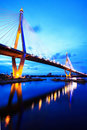 Industial Ring Bridge Royalty Free Stock Photo