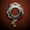 Industrial abstract background Stock Image