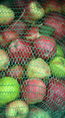 Industrial apples pic of background Royalty Free Stock Photography