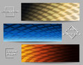 Industrial Banner Set Royalty Free Stock Photo