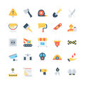 Industrial Colored Vector Icons 3
