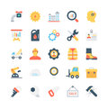 Industrial Colored Vector Icons 2