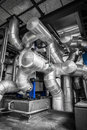 An industrial cooling equipment Royalty Free Stock Photography