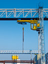 Industrial crane Royalty Free Stock Photo