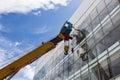 Industrial Crane Royalty Free Stock Photo