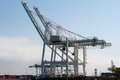 Industrial cranes Royalty Free Stock Photo
