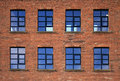 Industrial Factory Windows Royalty Free Stock Photo