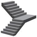 Industrial flight of stairs
