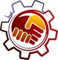 Industrial handshake