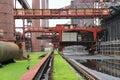 Industrial heritage germany essen zollverein unesco world site former coal mine Royalty Free Stock Photography