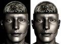 Industrial Machine Man Brain I...