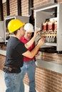 Industrial Maintenance Work Royalty Free Stock Photo