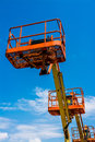 Industrial Man Lift Royalty Free Stock Photo