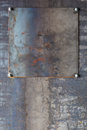 Industrial metal background grunge iron plate Stock Images