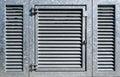 Industrial Metal Door Royalty Free Stock Photo