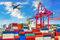 Industrial port Royalty Free Stock Photo