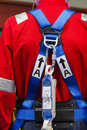 Industrial safety harness Royalty Free Stock Photo