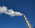 Industrial smokestacks Stock Photo
