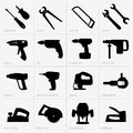 Industrial tools this image is a vector illustration and can be scaled to any size without loss of resolution can be variated and Stock Image