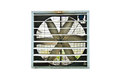 Industrial ventilator fan white background Stock Images