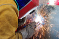 stock image of  Industrial welding