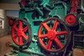 Industrial wheel gear Royalty Free Stock Photo