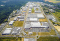 Industrial zone. Royalty Free Stock Photo