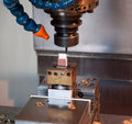 Industry - CNC machines for mold making Stock Photography