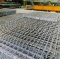 Industry grid of steel