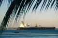 Industry in Todos los Santos Bay in Salvador de Bahia Royalty Free Stock Photo