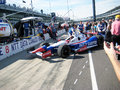 Indy Car Royalty Free Stock Photo