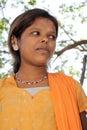 Indyjski biedny nastoletni Fotografia Royalty Free