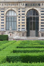 Infante s garden in louvre palace and museum Royalty Free Stock Images