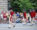 Infantry Old Guard Fife & Drum Corps. Royalty Free Stock Photo