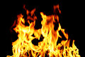 Inferno fire Royalty Free Stock Photo