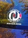Infinite jiu jitsu car sticker Stock Photography